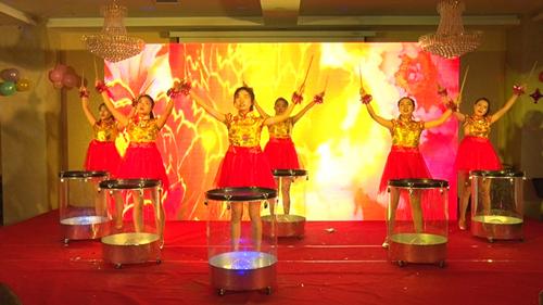 激光水鼓舞《中国龙》